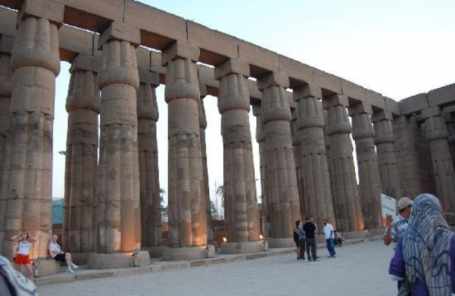 East Bank Luxor in Egypt